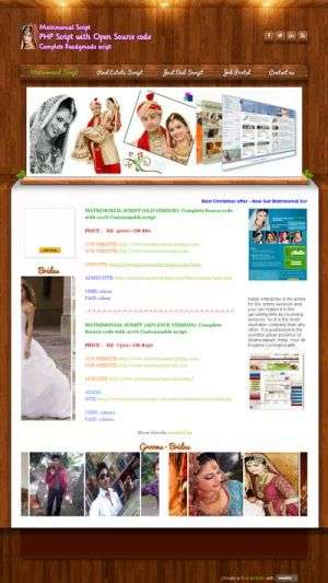 Corporate version matrimonial script with best features