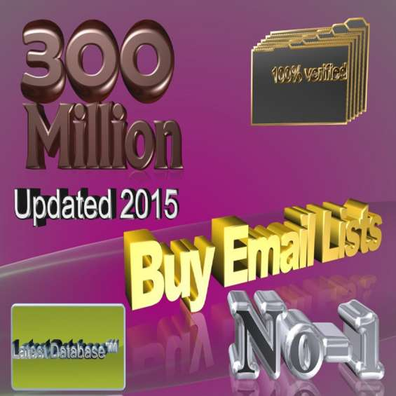 Buy email list for sale