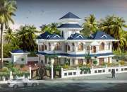 Satna Sloping Bungalow with Exclusive Designs 103#
