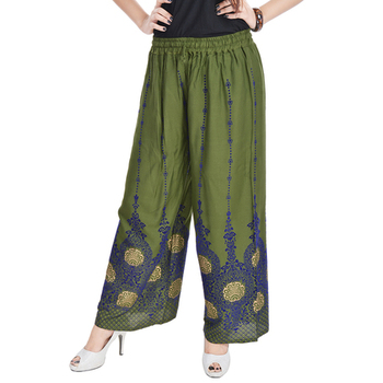 Buy fashionable palazzo pants online at mirraw