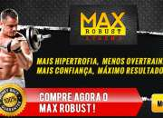 Max robust xtreme: 100% safe & natural bodybuilding formula!
