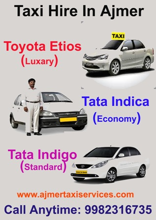 One way taxi ajmer, one way taxi service in ajmer