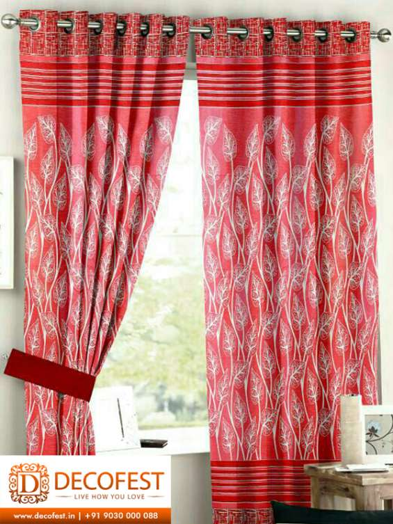 Decofest.in gives you an amazing range of curtains online to gratify all your needs.    decorate your house with quality products that enhances the look and feel without   compromising on the style factor. we have a wide selection available in different c