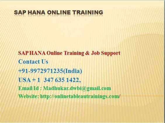 Sap hana online training from usa uk india