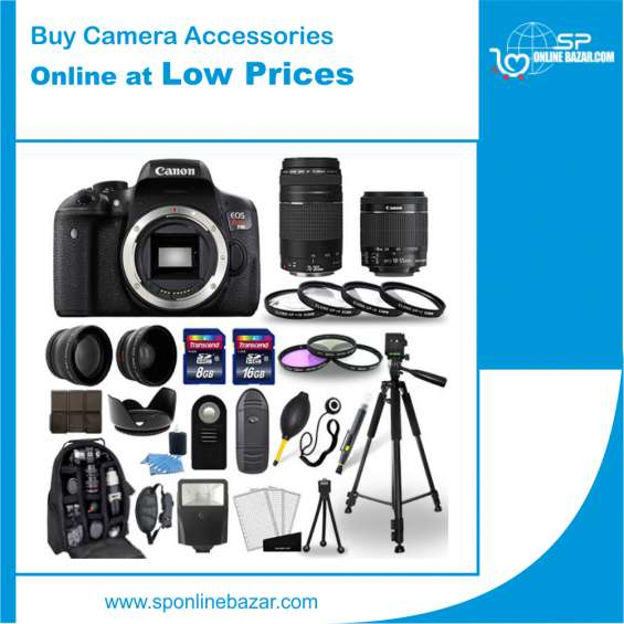 Buy camera accessories online at low prices