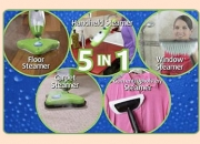 H2O Mop X5 5-in-1 Steam Cleaner with Microfiber Pads.