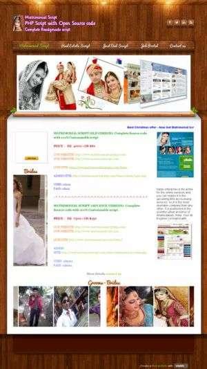 Corporate version matrimonial script with best features