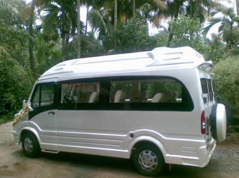12 seater ac tempo traveller hire in delhi