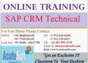CRM Technical Training | SAP CRM Technical Online Course
