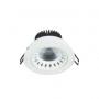 LPD1900601 PEARL COB LED DOWN LIGHT 9W 3000K-Vision Plastic-9824060588