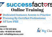 SAP SuccessFactors Online Training by Certified Professional