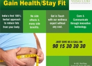 Lose extra Weight and Reduce Fats from your body with Vedas Cure
