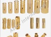 Brass fasteners- brass anchor- brass nuts-manufacturer, exporter and supplier in jamnagar,