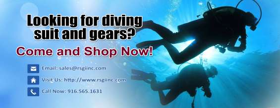 Looking for diving suit and gears? come and shop now…