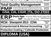 USA - Certifications/Diploma