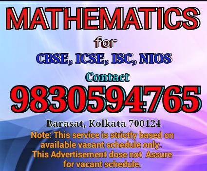 Math home tutor in barasat