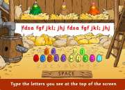 Dance Mat Typing level for all kids type 1 2 3 4 game - YouTube