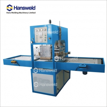 High frequency soft crease line welding machine for pvc, pet box