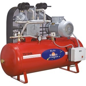 Buy elgi 15 hp compressors for industrial, service station