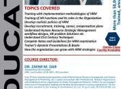 "3d Educators ""CHRMP CERTIFIED HUMAN RESOURCE MANAGEMENT PROFESSIONAL"