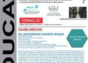 "3d Educators Offers ""DIPLOMA IN IT INFRASTRUCTURE DATACENTER WITH ORACLE DATABASE"" Karachi"