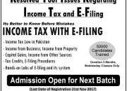 "3d educators offers ""income tax with e-filing"