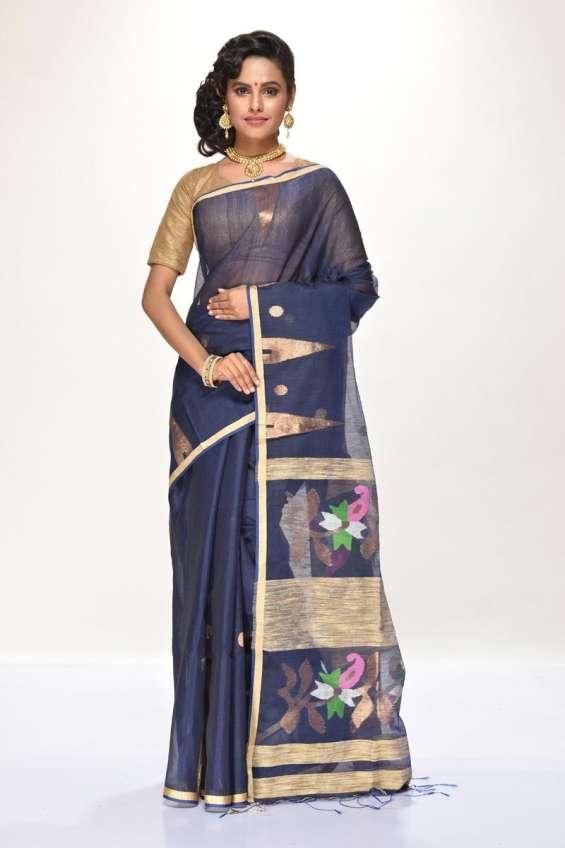 Shop online for bengal's best handloom sarees at banarasi niketan
