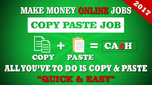 Work from home: online copy paste ad posting jobs for all ages