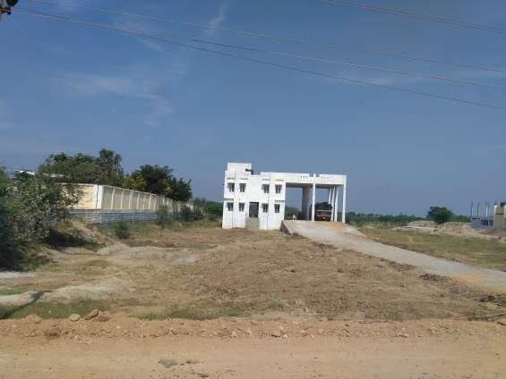 Residential land half acre just near it park maheswaram hyderabad