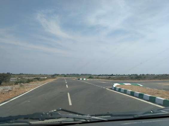 Residential zone superland chance bit half half acres at maheswaram