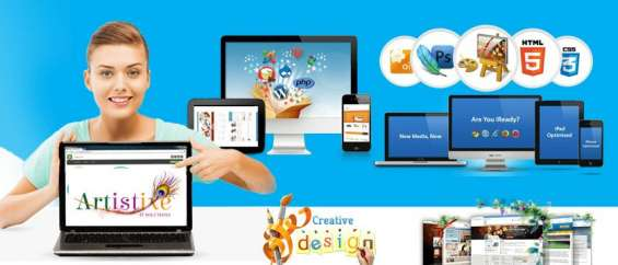 Website design and development company | artistixe it solutions