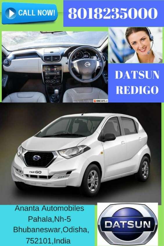 Welcome to nissan car showroom, buy new redigo car